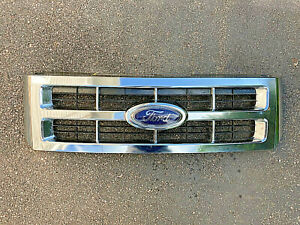 2007 2008 2009 2010 2011 2012 Ford Escape Front Upper Grille Grill Oem Chrome