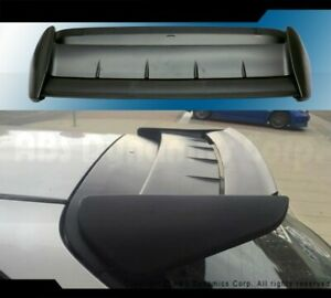 Fits 96 00 Honda Civic Hb Ek9 Seeker V2 Rear Spoiler 2pcs Carbon Fiber Abs