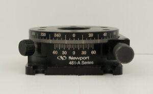 Newport 481 a Precision Rotational Stage 5 Degree With Micrometer