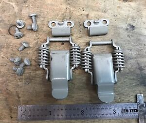 Pair Of Snap Latches Mil spec Military Vintage Test Equipment