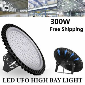 Industrial Lighting Led Ufo High Bay Light 300w Factory Warehouse Gym Fixture
