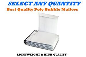 2 8 5x12 Poly Bubble Mailers Shipping Mailing Padded Bags Envelopes 8 5 X 11