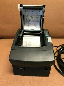 Samsung Bixolon Srp 350g Srp350 Thermal Pos Receipt Printer Serial W Power Supp