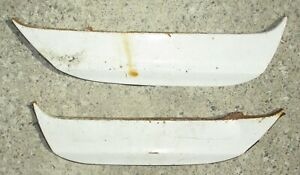 Pair 1965 1966 Plymouth Fury Fender Skirts