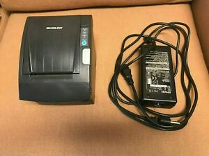 Samsung bixolon Srp 350pg Thermal Pos Receipt Printer With Power Supply