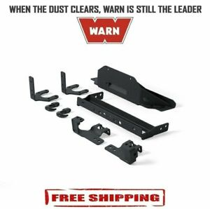Warn Winch Fixed Mount For M8274 50 Winch Fits Jeep Wrangler Jk 2007 2011 74249