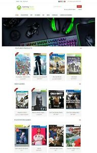 Games Store Website Turnkey Amazon Affiliate Store Ecommerce