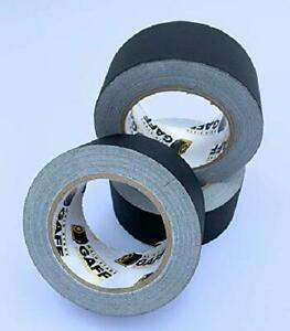 Gaffers Tape 3 Pack Of 2 Inch X 30 Yard Roll Black Main Stage Gaff Tape
