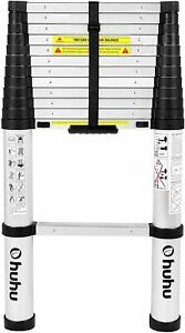 Ohuhu 12 5 Ft Aluminum Telescopic Extension Ladder Ansi Certified Extendable