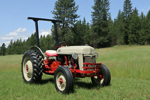 1952 Ford 8n Tractor Good Working Condition Starts Up Winter Or Summer