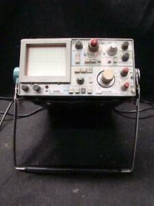 Vintage Sony Tektronix 335 Oscilloscope 35 Mhz for Parts Or Repair