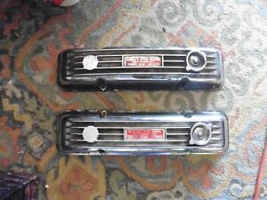 Vintage V8 Chevy Chevrolet 350 400 Retro Finned Aluminum Rundle S Speed Goodies
