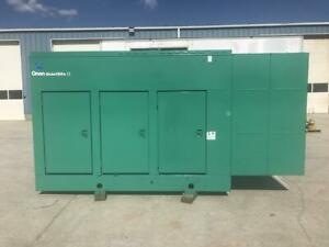 _200 Kw Cummins Onan Generator Set Sound Attenuated 12 Lead 1 3 Phase