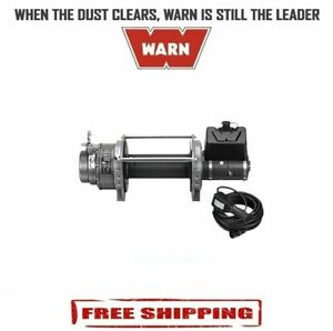 Warn 15 000 Lbs Series 15 Dc Hydraulic Industrial Winch W o Wire fairlead 66032