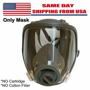 Medium sized Full Face Gas Mask Spray Paint Spray Respirator For 6800 Face Mask