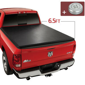 Roll Up Tonneau Cover For 2009 2020 Dodge Ram 1500 2010 2018 2500 3500 6 5ft Bed