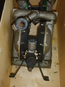 1 5 Inch Stainless Steel Aro Diaphragm Pump 90 Gpm