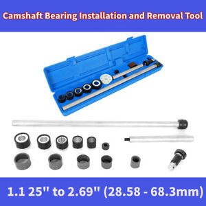 Universal Engine Camshaft Cam Bearing Installation Insert Removal Kit Tool Blue