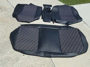 Bmw E28 528i 528is Rear Seat Kit M Tech Centers Ger Vinyl Upholstery New