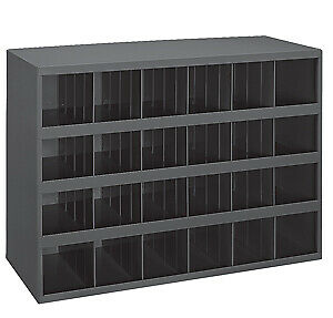 23 88 H X 33 75 W X 12 D Opening Parts Bin Cabinet