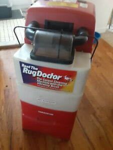 Used Rug Doctor Wide Track red Or blue Plus Upholstery Tool