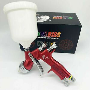 Devilbiss Gti Pro Lite Red 1 3mm T110 Nozzle Tool Pistol Spray Gun Paint Cars