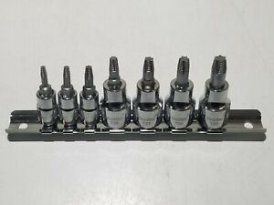 Lds 7pc Stripped Out Rounded Torx Bit Extractor Set 1010730