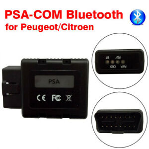 Psa Com Bluetooth Obd2 Diagnostic Scan Programming Tools For Peugeot Citroen