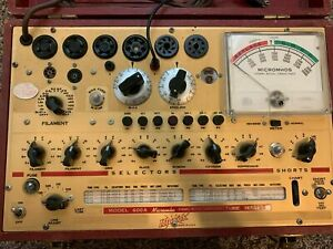 1 Excellent Refurbished And Caibrated Hickok 600a Tube Tester 2