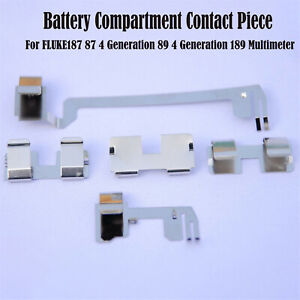 For Fluke187 87 4 89 4generation 189multimeter Battery Compartment Contact Parts