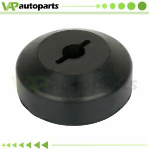 Winch Guard Cable Stop Hook Rubber Stopper Line Saver Universal Atv Utv Black