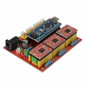 Cnc Shield V4 Expansion Board Nano 3 0 Stepper A4988 Driver For Arduino 3d U1w8