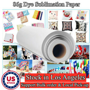 4 Roll Hanji 44 86g Sublimation Transfer Paper Sublipaper For Polyester Fabric