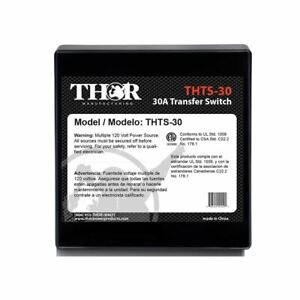 Thor Thts 30 30 Amp Transfer Switch