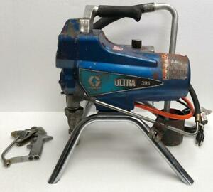 Graco Ultra 395 Electric Airless Paint Sprayer With Silver Plus Gun 110v