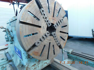 Monarch 48 Inch Swing Lathe 156 Cc Nn Model Tracer