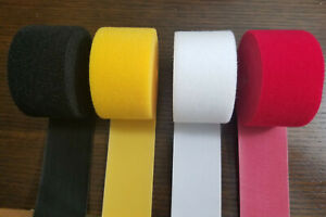 Velcro Brand 2 X 10ft Reusable One wrap Strap Dbl Sided Hook Loop 10 Colors