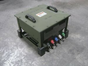 Trc 20200 Military Generator Grid Personal Protection Device 208v 3ph 200a Mep