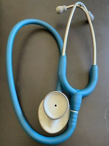 3m Littmann 2454 Lightweight Ii Stethoscopes Ceil Blue Tube 28 Inch