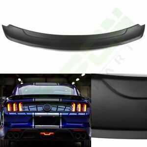 For 2015 19 Ford Mustang Gt Track Pack Style Lightweight Trunk Spoiler Wing