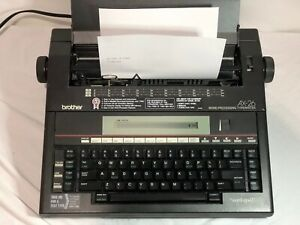 Brother Ax 26 Electronic Word Processing Typewriter Tested Work Amazin Condition