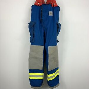 Morning Pride Fire Fighter Turnout Pants 38x30 Bunker Gear