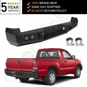 Steel Bumper New Complete Rear Pickup Fits Toyota Tacoma 2005 2006 2007 2015