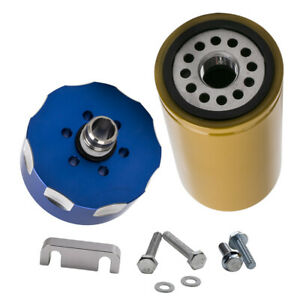 Performance 6 6l Fuel Filter Adapter Kit For Gm Duramax W Hardware 2001 2016