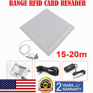 15m Rfid Uhf Passive Directional Reader For Car Packing System windshield Tags