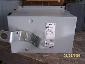Ite Busway Plug Bos14353j 100 Amp 480 Volt Bus Buss Bus Duct Reconditioned