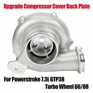 Wheel 66 88 Upgrade Compressor Cover Back Plate For Powerstroke 7 3l Gtp38 Turbo