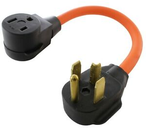 30 Amp Nema 14 30p To Nema 6 50r Flexible Welder Plug Adapter By Ac Works