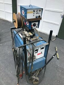 Millermatic Cp 300 Constant Dc Welder W Millermatic 30a Wire Feeder tahoe Area