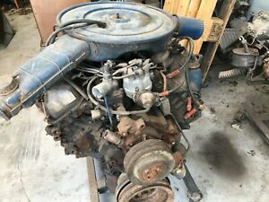 1975 Ford Lincoln 460 V 8 Engine With 75 K And Was Running 12 Yr S Ago